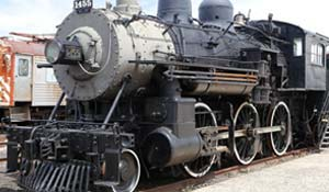 Steam Locomotive at Danbury Railway Museum